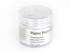Relief powder / Embossing powder - Opaque white