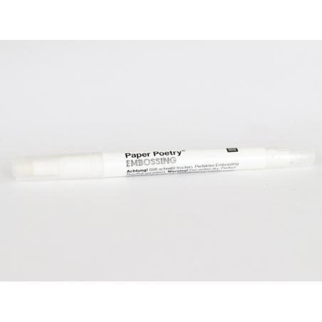 Acheter Feutre double pointe transparent pour embosser - 3,39€ en ligne sur La Petite Epicerie - Loisirs créatifs
