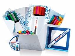 Colour happy box - Enorme pack de 70 feutres pour lettering et le coloriage Edding - 1