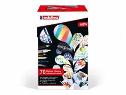 Colour happy box - Enorme pack de 70 feutres pour lettering et le coloriage Edding - 5