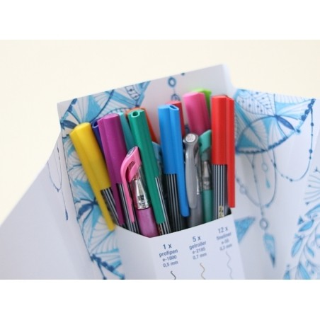 Colour happy box - Enorme pack de 70 feutres pour lettering et le coloriage Edding - 19