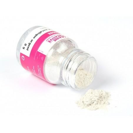 Acheter Poudre effet métallique argent pour les créations en pâte polymère - 6,99€ en ligne sur La Petite Epicerie - 100% Lo...