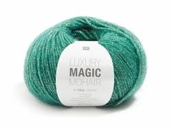 Laine luxury Magic Mohair - vert sapin