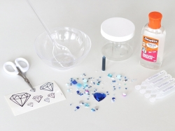 Kit complet - le Blue diamond slime