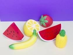 Acheter gros squishy quart de pastèque - anti stress - 13,99€ en ligne sur La Petite Epicerie - Loisirs créatifs
