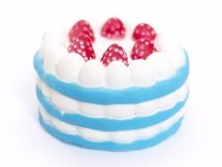 Acheter Squishy charlotte aux fraises - bleu - anti stress - 12,99€ en ligne sur La Petite Epicerie - 100% Loisirs créatifs