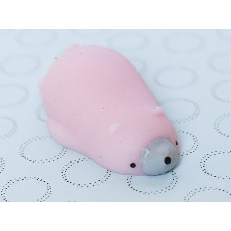 Acheter Mini squishy ours polaire rose - anti stress - 1,99€ en ligne sur La Petite Epicerie - Loisirs créatifs