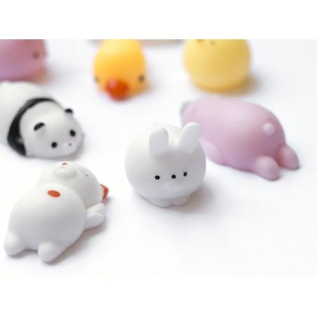 Mini squishy lapin blanc mignon -  anti stress  - 2