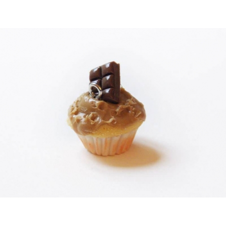 Acheter Pendentif cupcake - spéculos chocolat - 5,50€ en ligne sur La Petite Epicerie - 100% Loisirs créatifs