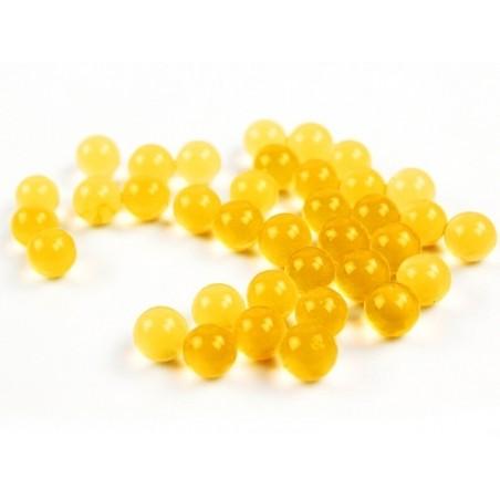 Lot de 100 billes d'eau jaunes pour le slime  - 2