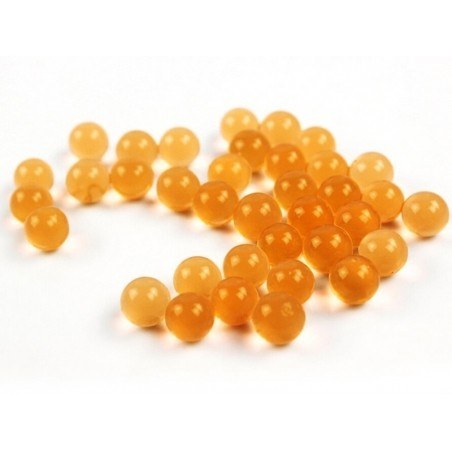 Lot de 100 billes d'eau oranges pour le slime  - 2