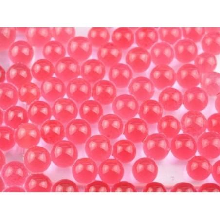 Lot de 100 billes d'eau rouges / corail pour le slime  - 6
