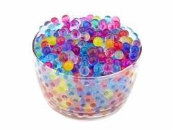 Lot de 500 billes d'eau multicolores pour le slime  - 1