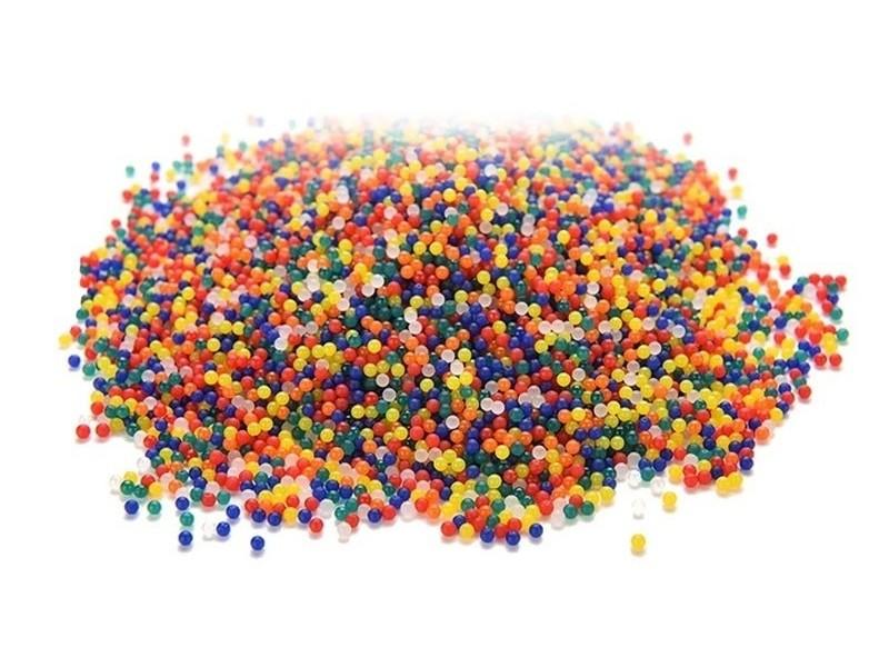 Enorme lot de 5000 billes d'eau multicolores pour le slime  - 1