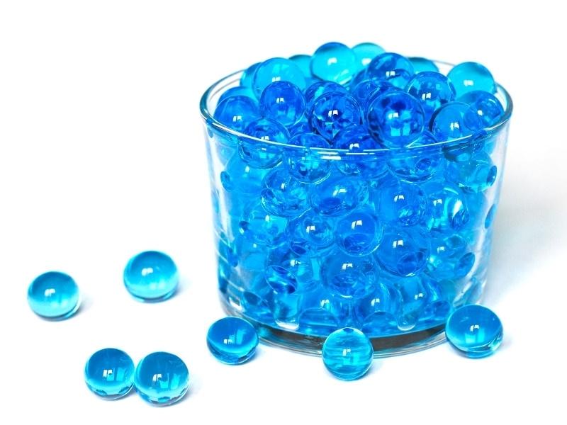 Acheter Lot de 100 billes d'eau bleues pour le slime - 0,99€ en ligne sur La Petite Epicerie - Loisirs créatifs
