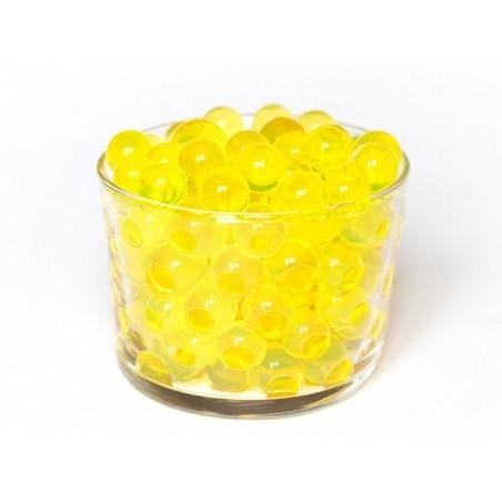 Lot de 100 billes d'eau jaunes pour le slime  - 3