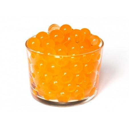 Lot de 100 billes d'eau oranges pour le slime  - 3