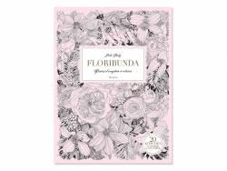 Livre de coloriage Floribunda de Leila Duly