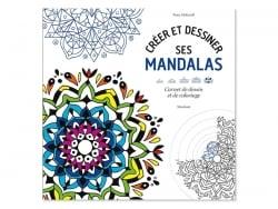 Livre de coloriage créer et dessiner ses mandalas - Kiona McKerrell