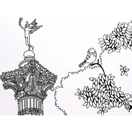 Acheter Livre colorier Paris de Hennie Haworth - 10,90€ en ligne sur La Petite Epicerie - 100% Loisirs créatifs