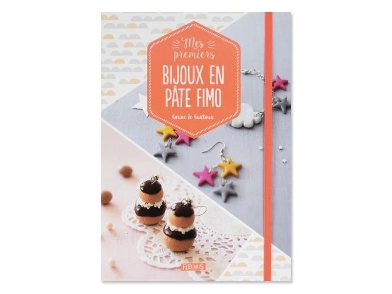 Livre Mes premiers bijoux en pâte Fimo de Carine Le Guilloux Fleurus - 1