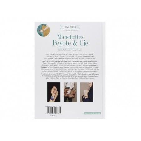 Livre Manchettes peyote et Cie de Stéphanie Le Roux Dessain et Tolra - 2