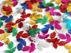 Acheter 100 sequins en forme de feuilles - multicolores - 1,49€ en ligne sur La Petite Epicerie - 100% Loisirs créatifs