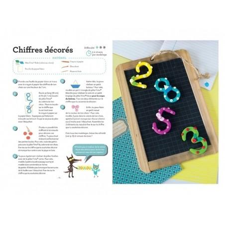 Livre Petites créa faciles en pâte fimo kids L'inédite - 4