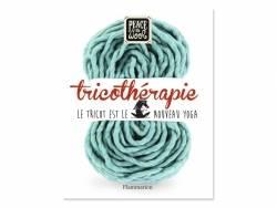 Livre Tricothérapie de Peace and Wool