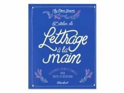 Livre L'atelier de Lettrage à la main de Thy Doan Graves Marabout - 1