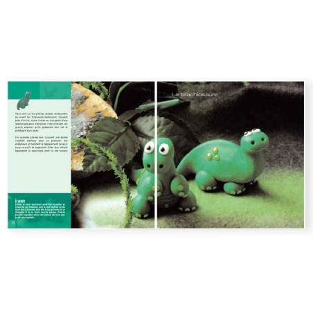 Livre Dinosaures à créer en pâte polymère