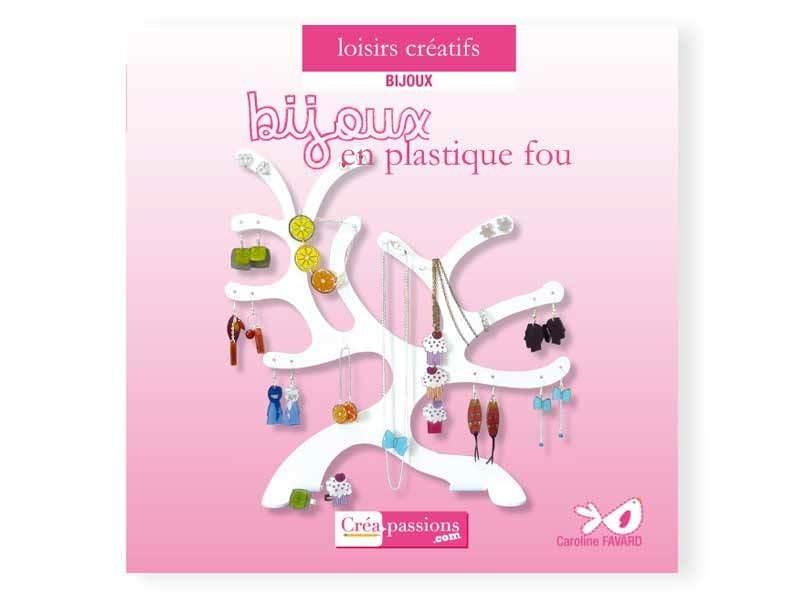 Livre Bijoux en plastique fou Créapassions - 1