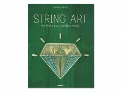 Acheter Livre String Art - art filaire pour une déco trendy de Sandra Lebrun - 17,50€ en ligne sur La Petite Epicerie - Lois...