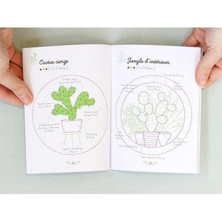 Acheter Coffret livre Mes petits tableaux cactus à broder - Corinne Odo-Valette - 15,95€ en ligne sur La Petite Epicerie - L...