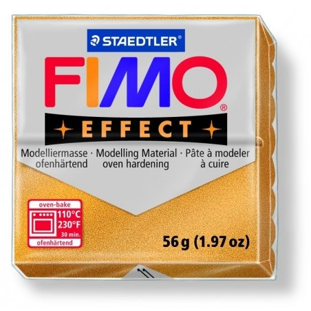 Pâte Fimo EFFECT Métallique Or  11