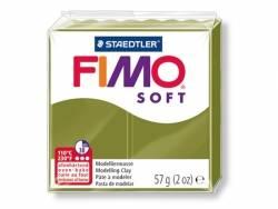 Pâte Fimo Soft Vert Olive 57 Fimo - 1