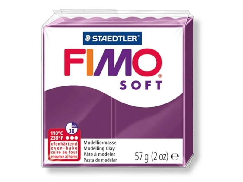 Acheter Pâte Fimo Soft Violet royal 66 - 1,99€ en ligne sur La Petite Epicerie - 100% Loisirs créatifs