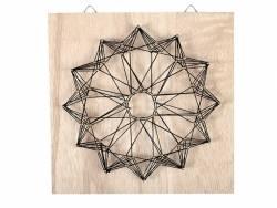 Acheter Kit string art tableau rosace - 9,99€ en ligne sur La Petite Epicerie - 100% Loisirs créatifs