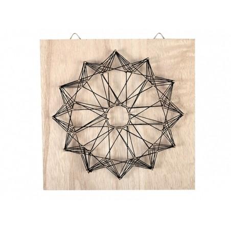 Kit string art tableau rosace Graine Créative by DTM - 1