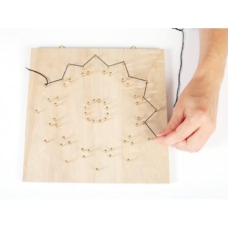 Kit string art tableau rosace Graine Créative by DTM - 3