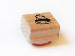Stamp - Chocolate religieuse