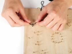 Kit string art tableau rosace Graine Créative by DTM - 4