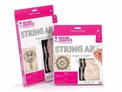 Kit string art tableau rosace Graine Créative by DTM - 5