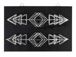 Kit string art tableau flèches géométriques Graine Créative by DTM - 1