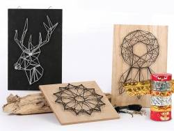 Kit string art tableau rosace Graine Créative by DTM - 7