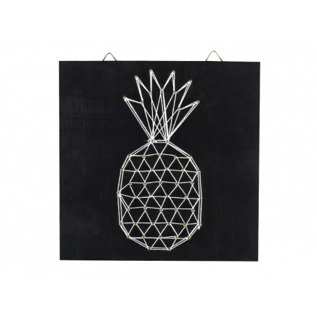 Kit string art tableau ananas Graine Créative by DTM - 1
