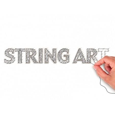 Kit string art tableau ananas Graine Créative by DTM - 3