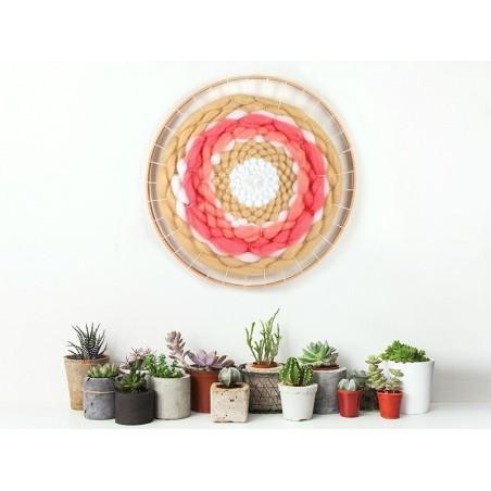 Kit métier à tisser rond 28,5 cm Graine Créative by DTM - 2