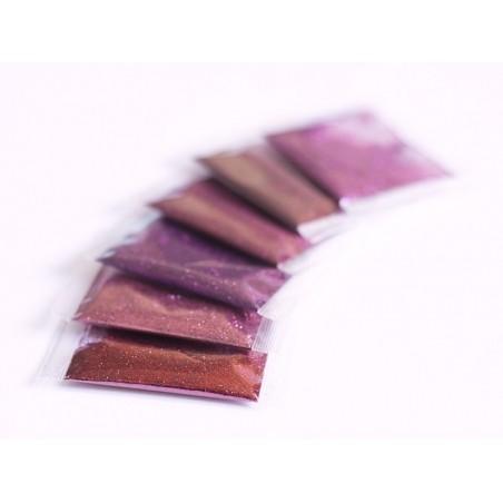 Acheter Lot de 6 sachets de poudres de paillettes - couleurs roses - 2,99€ en ligne sur La Petite Epicerie - 100% Loisirs cr...