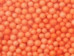 Billes de polystyrène orange